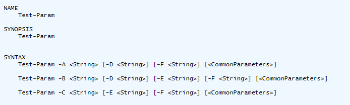 Add a Parameter to Multiple Parameter Sets in PowerShell | Jonathan