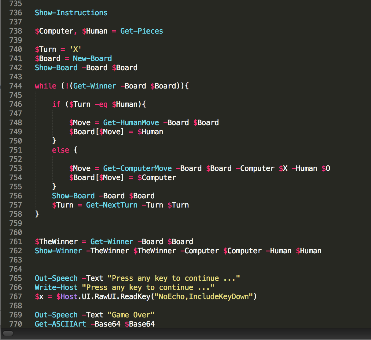 Writing powershell code on os x using sublime jonathan medds blog post navigation malvernweather