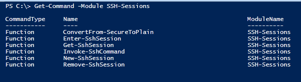 Using SSH to Access Linux Servers in PowerShell | Jonathan