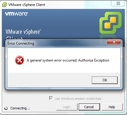 SSO AuthorizeException