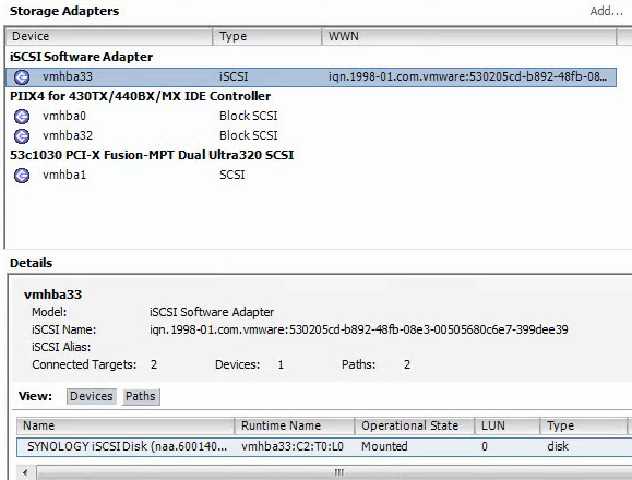 Synology DSM: Enabling iSCSI Multiple Sessions | Jonathan