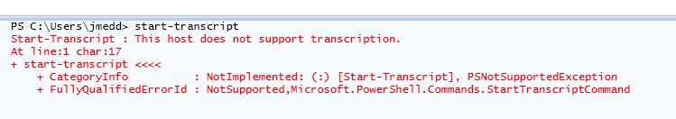PowerShellStartTranscript01